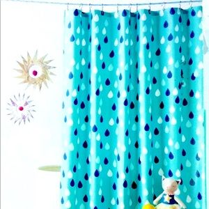 Pillowfort Raindrop Shower Curtain